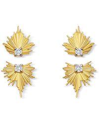 Elham & Issa Jewellery - Evolution Diamond Earring - Lyst