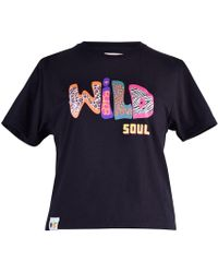 blonde gone rogue - Wild Soul Sustainable T-shirt In Black - Lyst