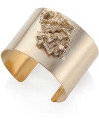 Noritamy - Gold Bismuth Cuff - Lyst