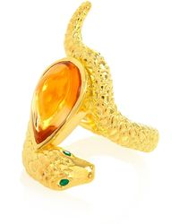 Alexandra Alberta - Arizona Citrine Ring - Lyst