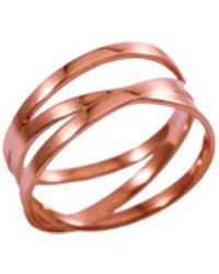 MARIE JUNE Jewelry - Bundle Rose Gold Ring - Lyst