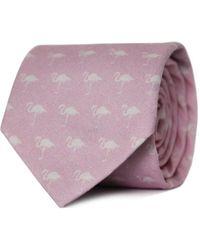Tom Astin - Flamingle Necktie - Lyst