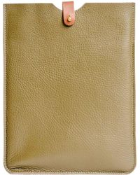 N'damus London - Ipad 2 Sleeve Olive - Lyst