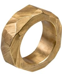 Linnie Mclarty - Monsta Gold Ring - Lyst