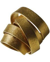 Linnie Mclarty - Aurum Gold Ring - Lyst