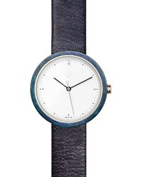 Flint Watches - Blue Patina Midnight Ore Strap - Lyst