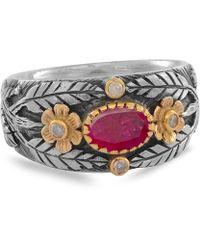 Emma Chapman Jewels - Esmeralda Ruby Diamond Ring - Lyst