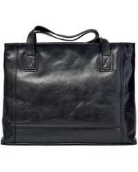 Maxwell Scott Bags - Luxury Italian Leather Women's Shopper Handbag Athenea Night Black - Lyst