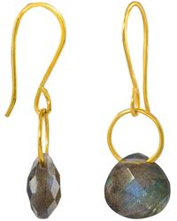 Juvi Designs - Boho Tiny Dancer Earrings With Labradorite - Lyst