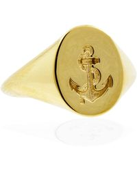 No 13 - 9ct Solid Gold - Lyst