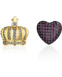 Opes Robur - Royal Love Earrings - Lyst