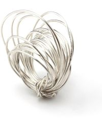 Linnie Mclarty - Wrapt Silver Ring - Lyst