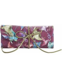 Fonfique - Lesath Jewellery Roll In Imperial Burgundy - Lyst