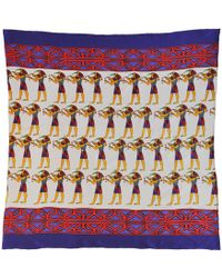 Jessica Russell Flint - Crazy Cairo Silk Scarf In Gift Box - Lyst