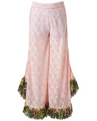 Supersweet x Moumi - Garden Trousers - Lyst