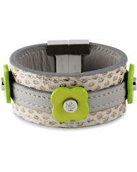 Tissuville - Say Bonjour Bracelet Chartreuse - Lyst