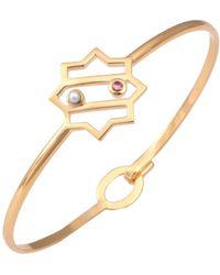 Leivan Kash - Kimia Star Bangle Gold - Lyst