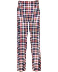 Law of Sleep - Theodore Pyjama Trousers Green - Lyst