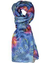 Jennifer Rothwell - Ocean Underworld Print Silk Scarf - Lyst