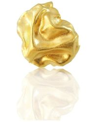 Karolina Bik Jewellery - Gniot Ring Gold - Lyst