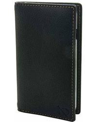 N'damus London - Black Leather Iphone 6 & Card Holder Case Clear Cradle - Lyst