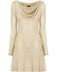 Nicole Coste - Liz Scoop Neck Dress Gold - Lyst