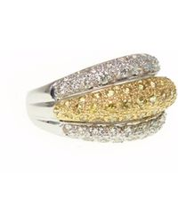 Ri Noor | Yellow Sapphire & Diamond Ring | Lyst
