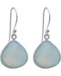 Juvi Designs - Egadi Drop Earrings With Aqua Chalcedony - Lyst