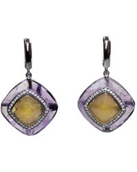 Bellus Domina - Festino Ametrine Earrings - Lyst