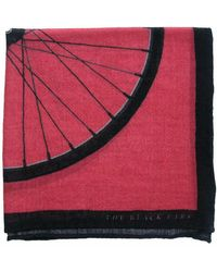 The Black Ears - The Big Wheel Wool Pocket Square - Lyst