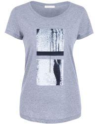 URBAN GILT - Maddox Grey T-shirt - Lyst