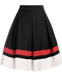 Rumour London - Bella Silk Flared Skirt - Lyst
