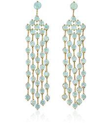 Cielle - Spring Blossom Earrings Blue - Lyst
