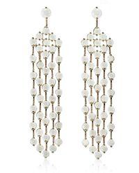 Cielle - Spring Blossom Earrings White - Lyst