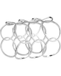 Emily Mortimer Jewellery - Wanderlust Silver Cuff - Lyst