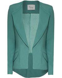 Hebe Studio - The Hebe Suit Green Girlfriend Blazer - Lyst