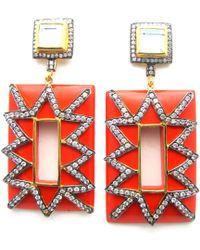 Meghna Jewels - Audrey Earrings - Lyst