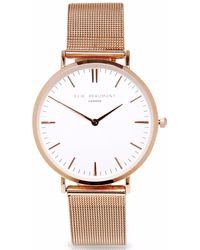 Elie Beaumont - Oxford Large Rosegold Mesh - Lyst