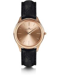 Kennett Watches - Kensington Lady Rose Gold Black - Lyst
