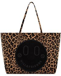 Hill & Friends - Leopard Print Slouchy Tote - Lyst