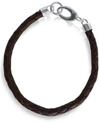 GFG Jewellery by Nilufer - Nikos Man Bracelet Brown - Lyst