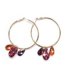 Miss High & Low - Passion Fruit Earrings - Lyst