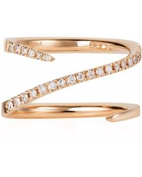 Sarah Ho - Sho - Numerati Ring Rose Gold Lucky Number 2 - Lyst