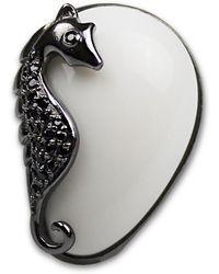 Bellus Domina - Adjustable Seahorse Cocktail Ring - Lyst