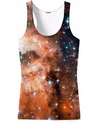 Aloha From Deer - Galaxy One Tank Top - Lyst
