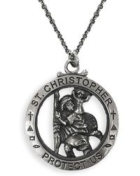 Serge Denimes - St Christopher Necklace - Lyst
