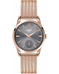 Henry London | Ladies 30mm Finchley Stainless Steel Watch | Lyst