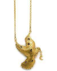 Annabelle Lucilla Jewellery - Luna Dove Pendant - Lyst