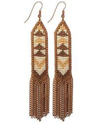 Fiona Paxton - Melody Rose Gold Earring - Lyst