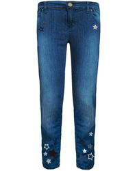 My Pair Of Jeans - Kate Embroidered Boyfriend Jeans - Lyst
